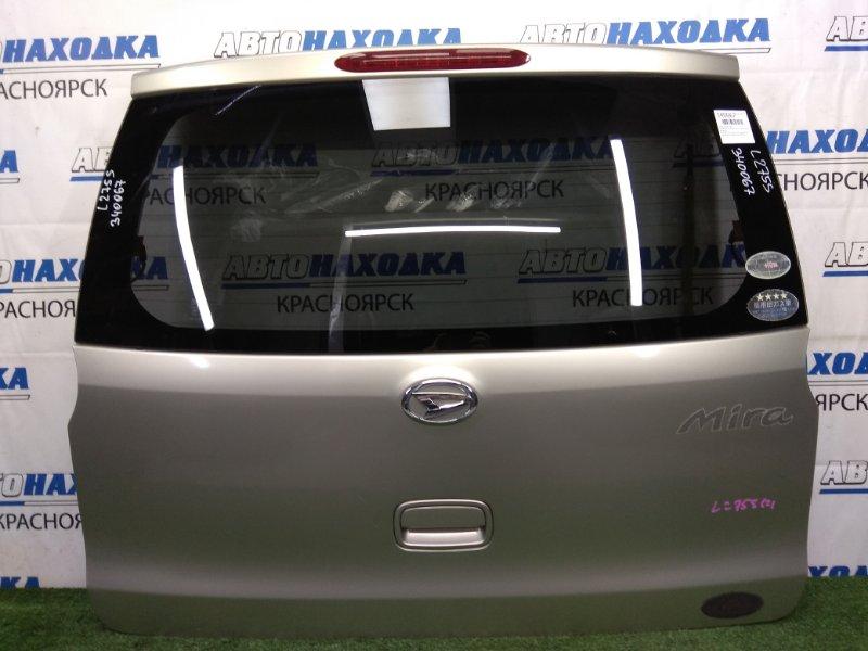 Дверь задняя Daihatsu Mira L275S KF-VE 2006 задняя бежевая (T23), с доп. стоп-сигналом, не под