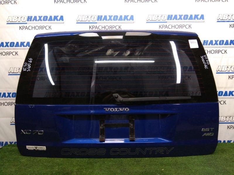 Дверь задняя Volvo Xc70 SZ59 B5254T2 2000 задняя В целом ХТС, синяя (458), в сборе, есть одна
