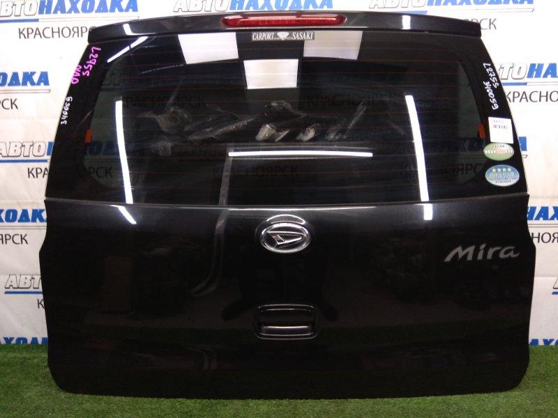 Дверь задняя Daihatsu Mira L275S KF-VE 2006 задняя В ХТС, черная, с доп. стоп-сигналом, не под