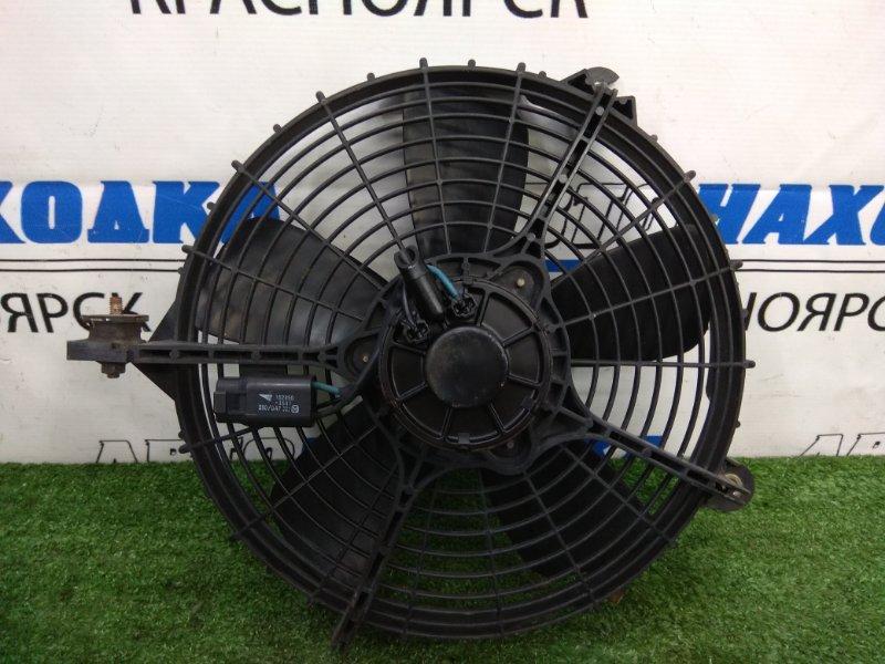 Вентилятор радиатора Toyota Corona Exiv ST182 3S-FE 1989 на кондиционер, с диффузором