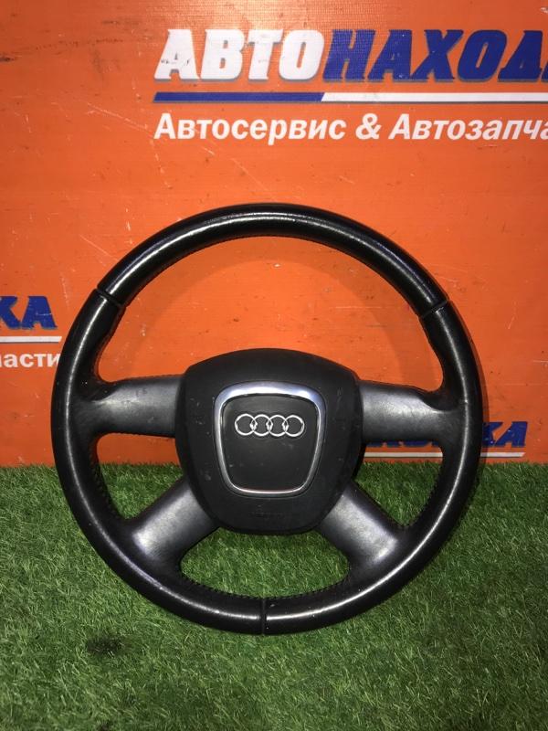 Руль Audi A3 8PA BSE 2004 кожаный+airbag без заряда