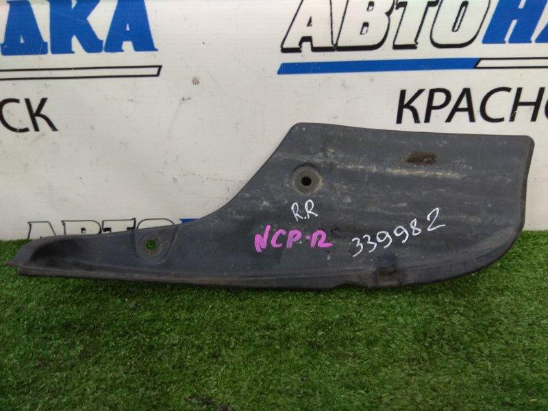 Подкрылок Toyota Platz NCP12 1NZ-FE 1999 задний правый 52591-52040 задний правый