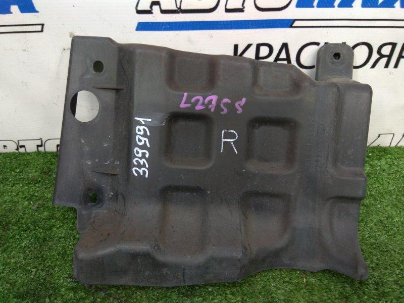 Защита двс Daihatsu Mira L275S KF-VE 2006 передняя правая правая, боковая