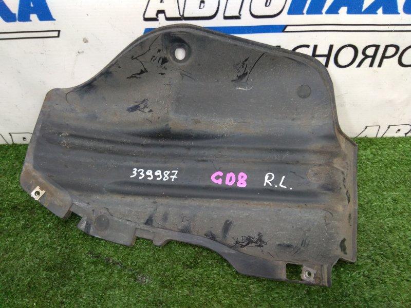 Подкрылок Honda Fit Aria GD8 L15A 2002 задний левый задний левый