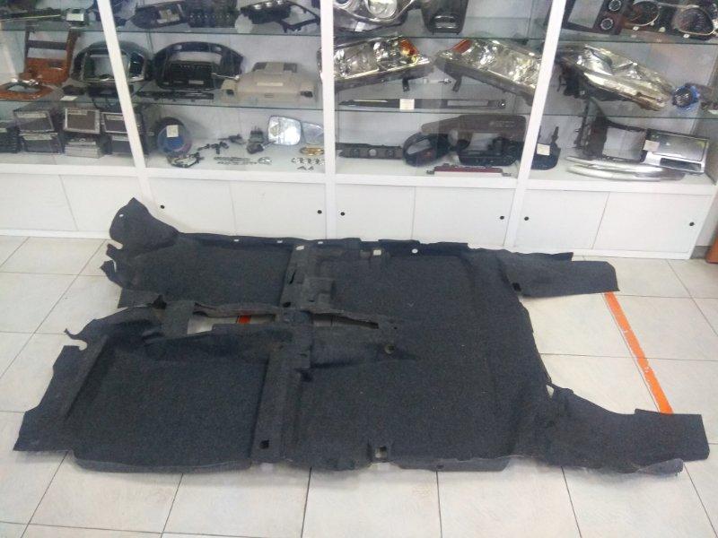 Обшивка пола Daihatsu Mira L275S KF-VE 2006 ковровое покрытие пола в салон, темно-серое, под