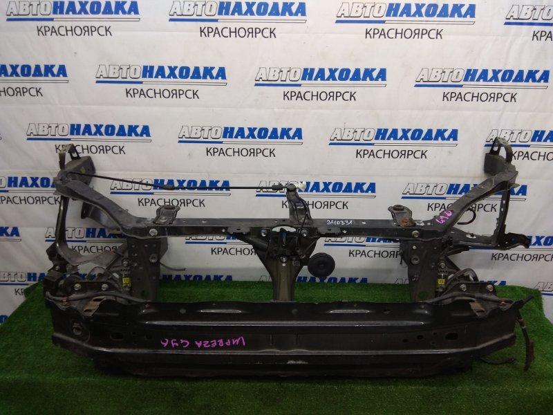 Рамка радиатора Subaru Impreza GJ6 FB20 2011 с лонжеронами 45см., с усилителем, замком,