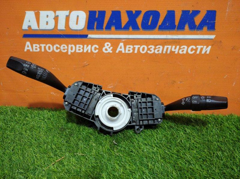Переключатель подрулевой Honda Fit GD1 L13A 2001 2 части под туманки