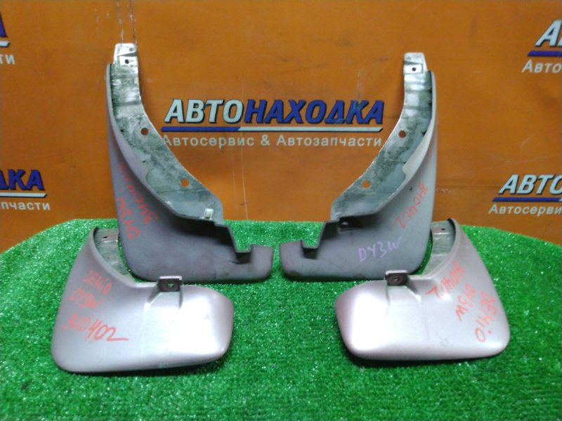 Брызговик Mazda Demio DY3W ZJ-VE 07.2003 КОМПЛЕКТ. 4 ШТУКИ