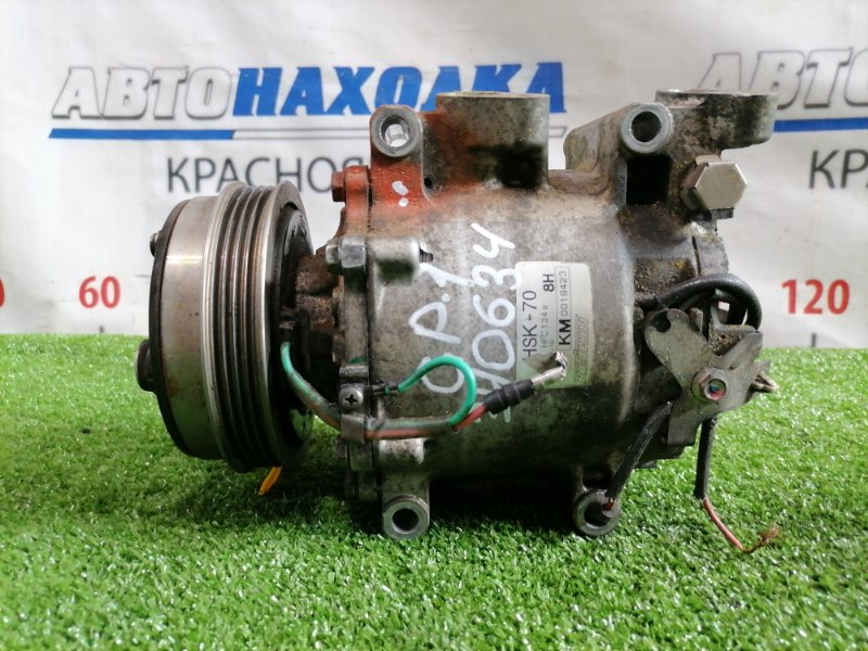 Компрессор кондиционера Honda Fit GP1 LDA 2010 HSK-70 пробег 47 т.км