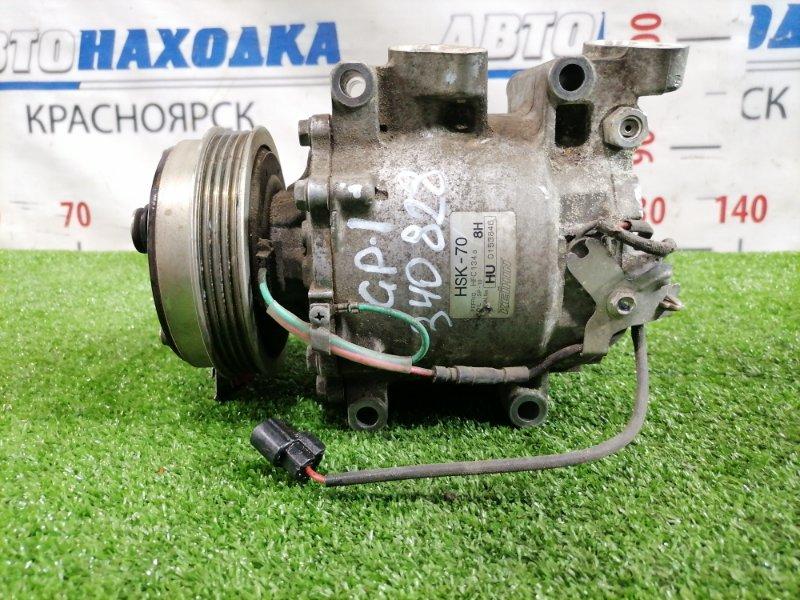 Компрессор кондиционера Honda Fit GP1 LDA 2010 HSK-70 пробег 60т.км.
