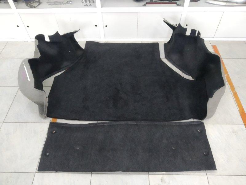 Обшивка багажника Toyota Corona Exiv ST182 3S-FE 1991 комплект 4 части : 2 боковушки + задняя часть +
