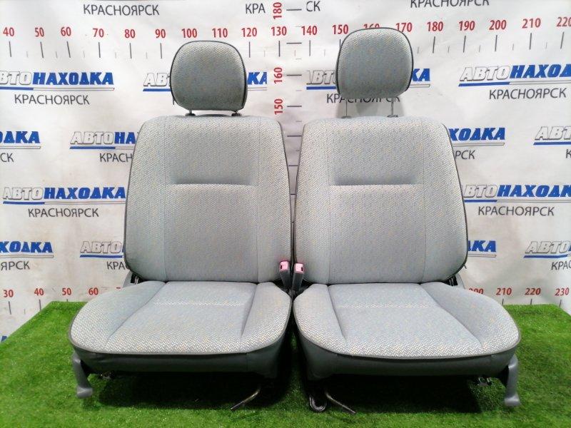 Сиденья Toyota Corsa EL51 4E-FE 1994 передняя Передние, пара, оба сиденья в ХТС, с 3-х дверки ( на