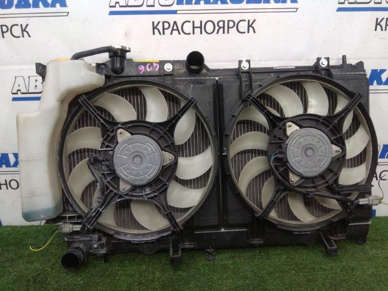 Радиатор двигателя Subaru Impreza GJ6 FB20 2011 CVT, с дифузорами и вентиляторами,