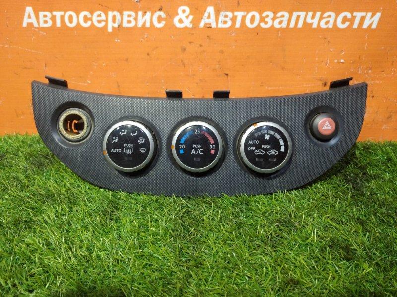 Блок управления климат-контролем Nissan Serena TC24 QR20DE 2001 2 мод.+кнопка