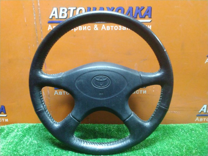Руль Toyota Carina ST190 4S-FE 10.1992 КОЖА