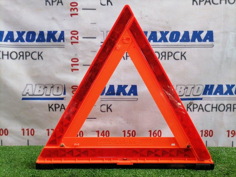 Знак аварийной остановки Toyota Sprinter AE91 5A-FE 1987 штатный