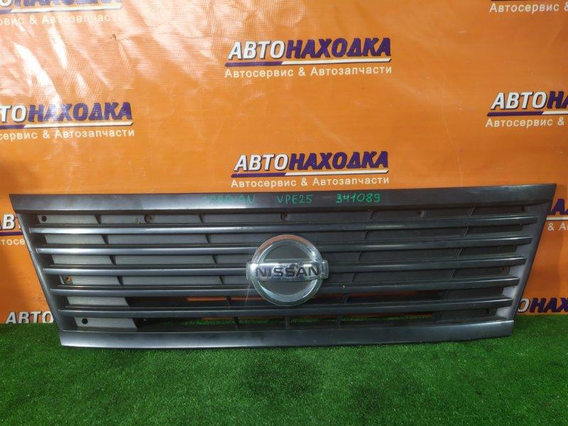 Решетка радиатора Nissan Caravan VPE25 KA20DE 62310VX50A
