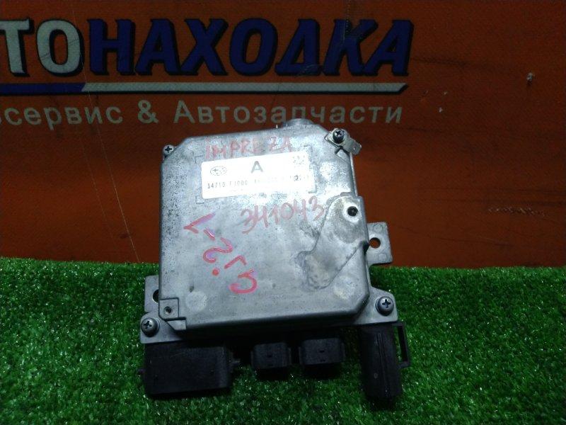 Блок управления рулевой рейкой Subaru Impreza GJ2 FB16 02.2012 34710-FJ000