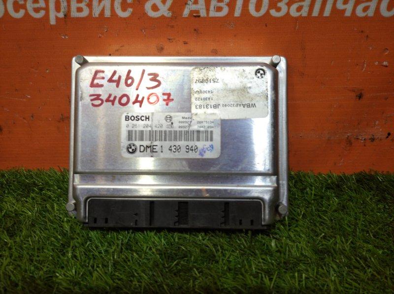 Компьютер Bmw 3-Series E46/3 M43B19TU 1999