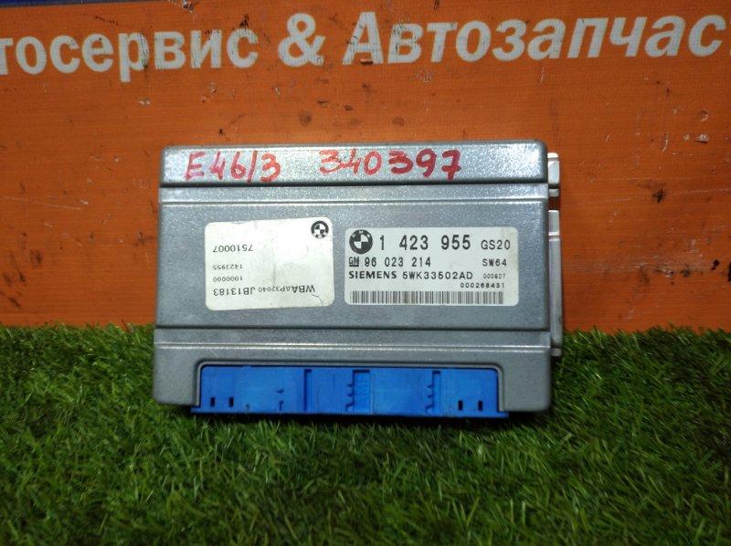 Блок управления Bmw 3-Series E46/3 M43B19TU 1999 КПП