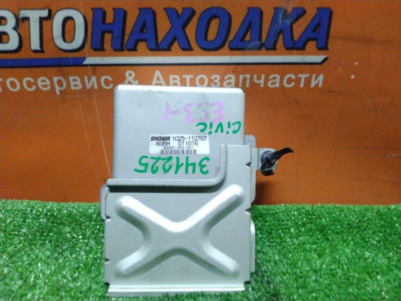 Блок управления рулевой рейкой Honda Civic ES3 D17A 2002 39980-S5A-901 EPS
