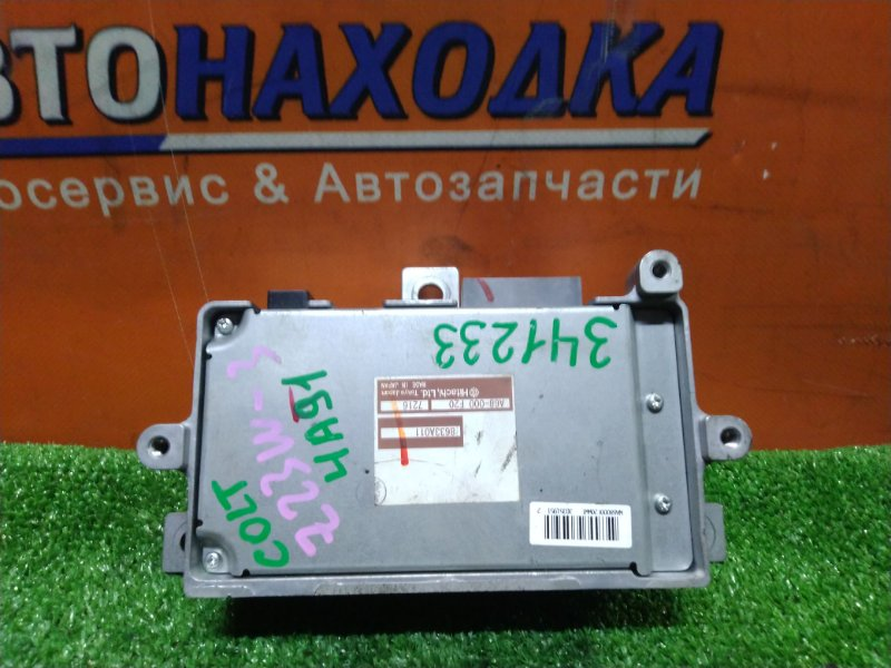 Блок управления рулевой рейкой Mitsubishi Colt Plus Z23W 4A91 02.2007 8633A011 EPS