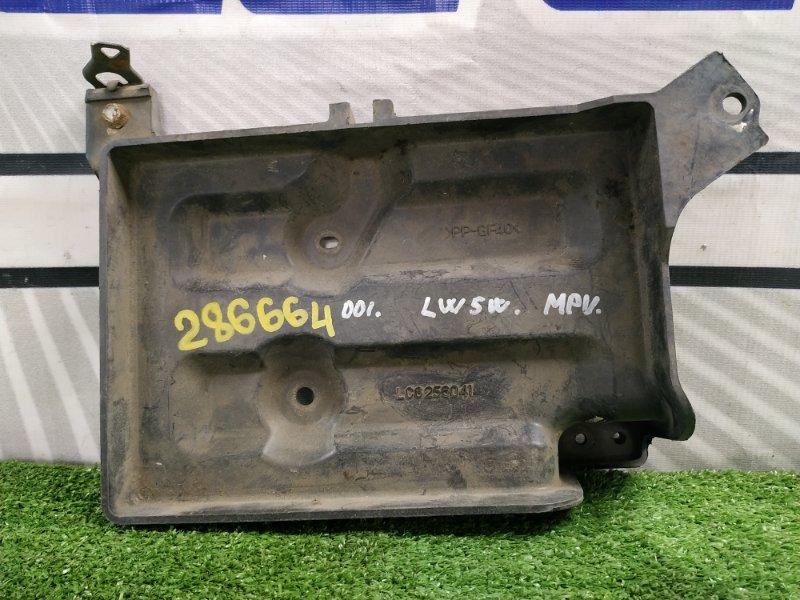 Крепление аккумулятора Mazda Mpv LW5W GY 1999 под широкую АКБ