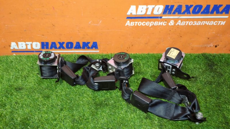 Ремень безопасности Mazda Axela BKEP LF-VE 2006 задний комплект 3 штуки