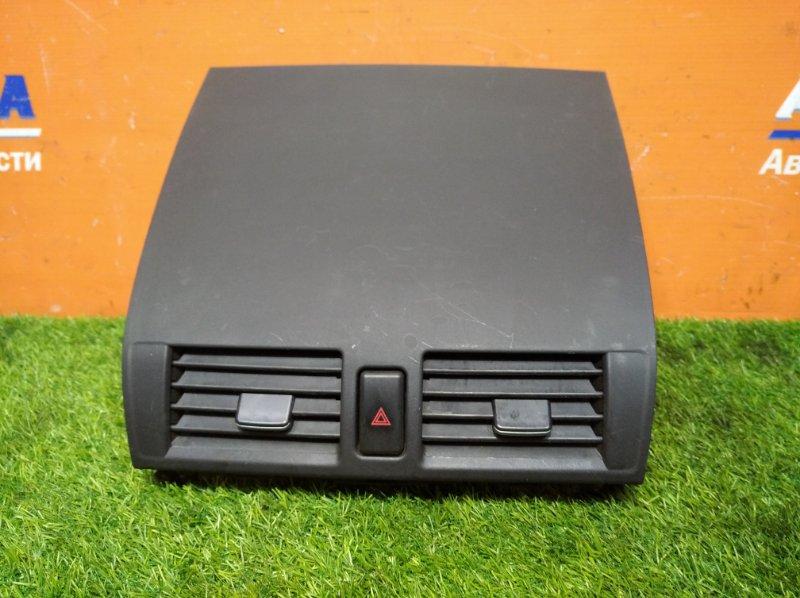 Дефлектор воздушный Mazda Axela BKEP LF-VE 2006 центральный +кнопка аварийки