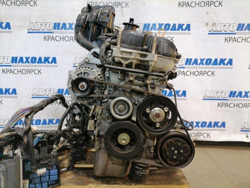 Двигатель Nissan Moco MG33S R06A 2011 1531599 R06A № 1531599. На ДВС: впускной коллектор (пластиковый),