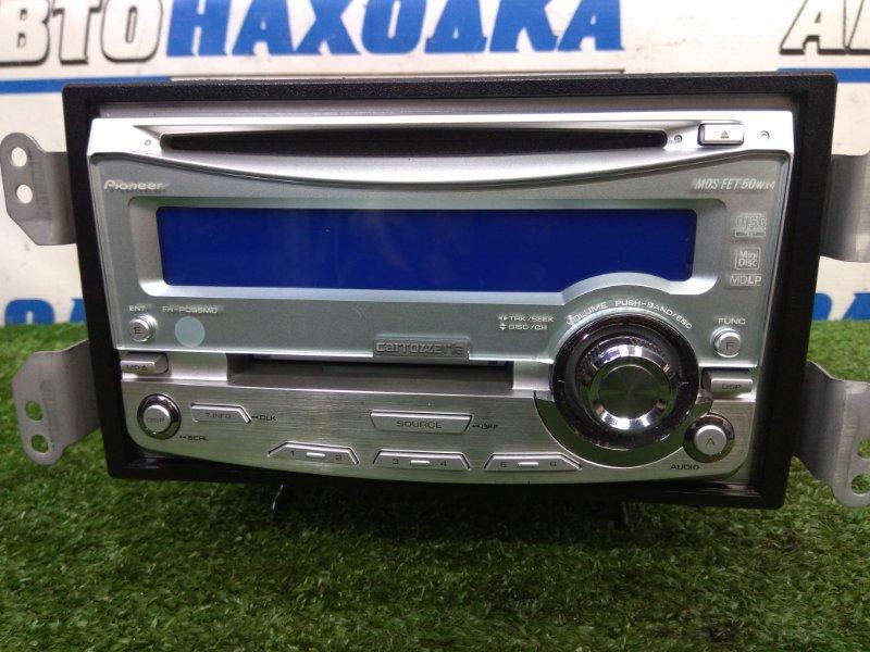 Магнитола Honda Fit Aria GD8 L15A 2002 FH-P055MD PIONEER CARROZZERIA FH-P055MD, 2DIN (178x100 мм), CD/MD, FM/AM, с фишкой
