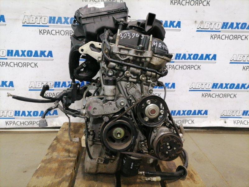 Двигатель Suzuki Hustler MR41S R06A 2014 A894416 R06A № A894416, пробег 30т.км. Без навесного, на ДВС: