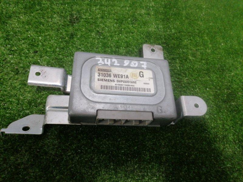 Компьютер Nissan Ad VFY11 QG15DE 1999 блок управления АКПП
