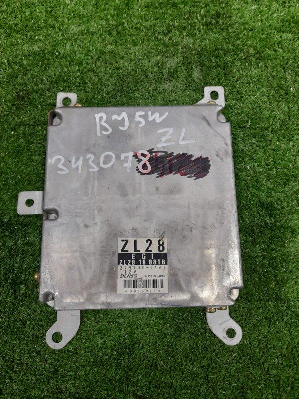 Компьютер Mazda Familia BJ5W ZL-DE 2000 блок управления ДВС, автомат 105лс.