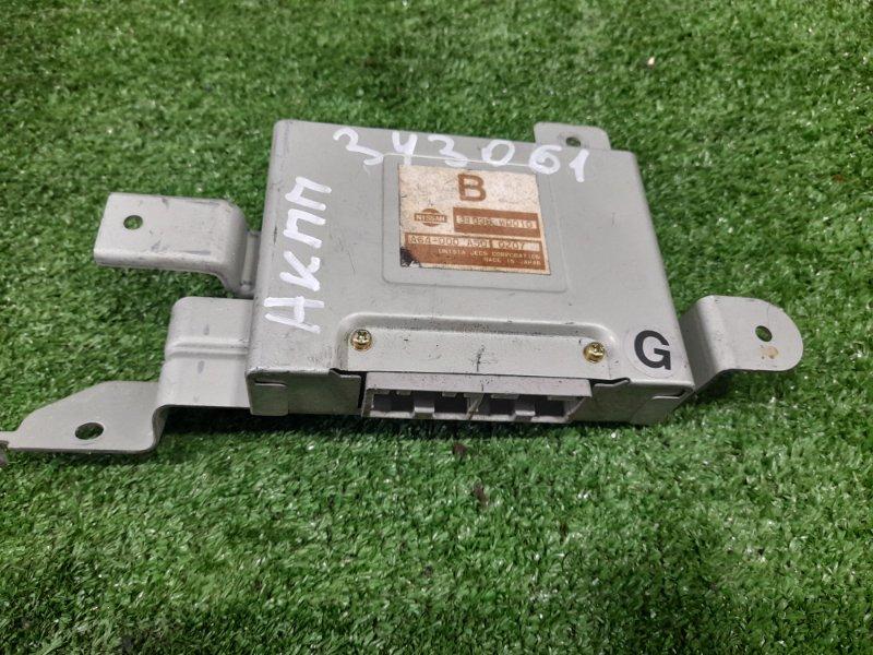 Компьютер Nissan Ad VFY11 QG15DE 1998 блок управления АКПП