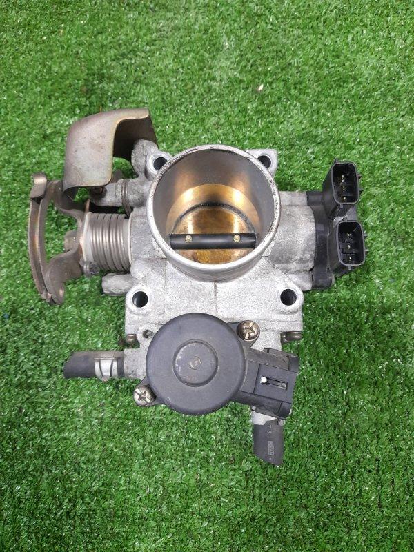 Заслонка дроссельная Nissan Ad VFY11 QG15DE 1998 с датчиком положения дросселя, клапаном