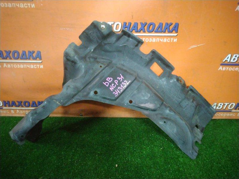 Защита двс Toyota Bb NCP31 2NZ-FE передняя правая 51441-52010
