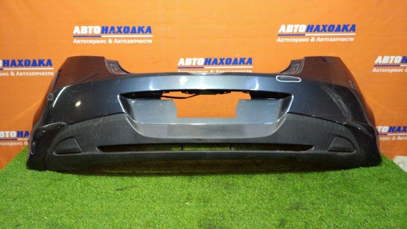 Бампер Mazda Demio DEJFS P3-VPS 2007 задний Под покраску + накладки