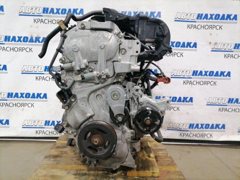 Двигатель Nissan Sylphy TB17 MRA8DE 2012 015624A MRA8DE № 015624A, 2014 г.в. Без навесного, на ДВС: коллектор