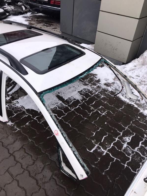 Крыша Toyota Ipsum ACM21W 2AZ-FE 2001 ХТС/2 люка+релинги (без FL и RR заглушек)+обшивка