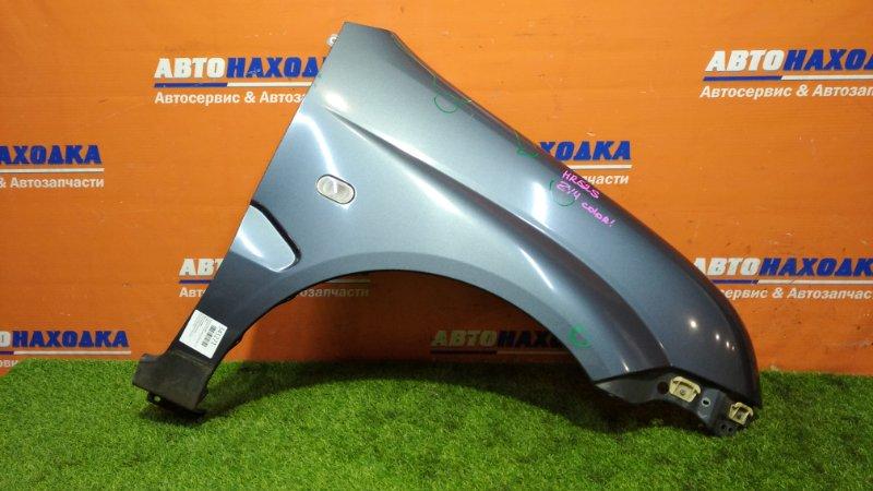 Крыло Chevrolet Cruze HR52S M13A 2001 переднее правое цвет zy4/дефект ЛКП/повторитель+клипса