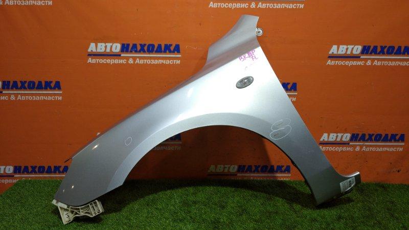 Крыло Mazda Axela BKEP LF-DE 2003 переднее левое цвет 22V повторитель+клипса/есть царапины до
