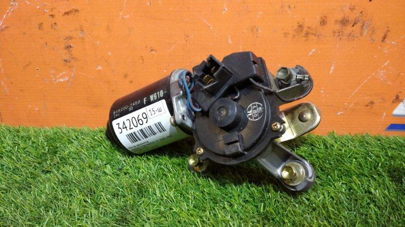 Мотор дворников Mazda Titan WHS5T VS 2000 передний 849200-7453 надломлена фишка