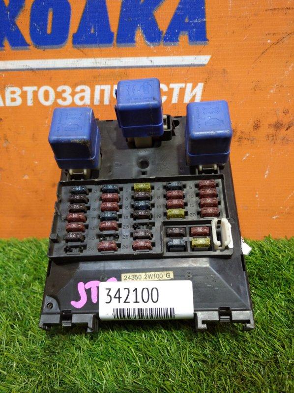 Блок предохранителей Nissan Terrano Regulus JTR50 ZD30DDTI 1996 салонный