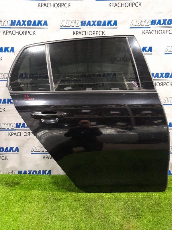 Дверь Volkswagen Golf 5K1 CAXA 2008 задняя правая задняя правая, в сборе, хэтчбэк, есть сколы,