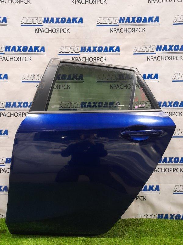 Дверь Mazda Axela BLFFW PE-VPS 2009 задняя левая задняя левая, в сборе, хэтчбэк, цвет 38K. Есть сколы,