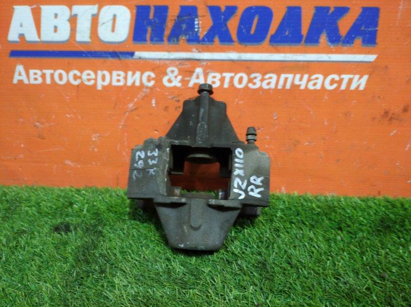 Суппорт Toyota Mark Ii Blit JZX110W 1JZ-FSE 2002 задний правый