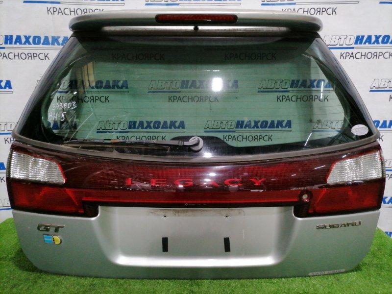 Дверь задняя Subaru Legacy BH5 EJ20 2001 задняя В сборе, вставка (4835), есть трещина и скол на