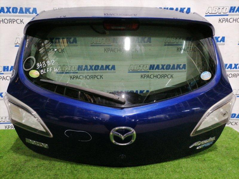 Дверь задняя Mazda Axela BLFFW PE-VPS 2011 задняя В сборе, с фонарями (P8241), с 2 кнопками замка