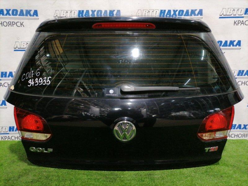 Дверь задняя Volkswagen Golf 5K1 CAXA 2008 задняя В сборе, хэтчбэк, есть скол до металла на